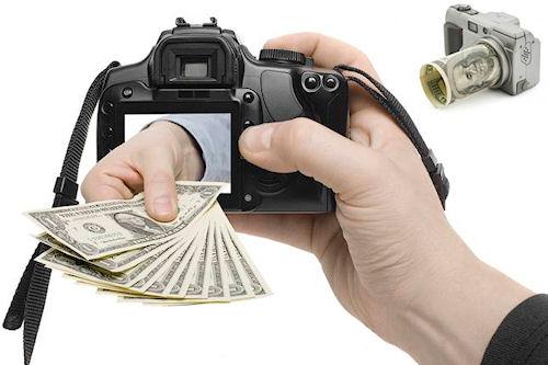 Зарабатываем деньги на фотографиях