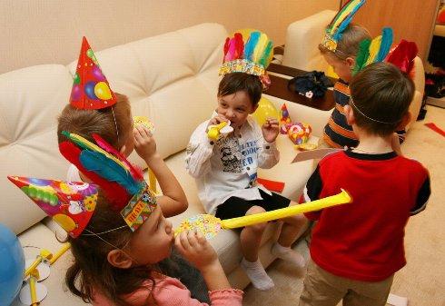 Детский праздник дома