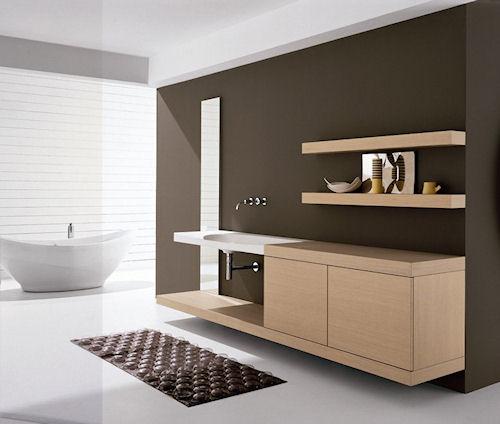 Новое в дизайне тумб для ванной комнаты