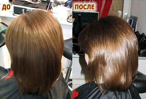 Эллюминирование волос в домашних условиях