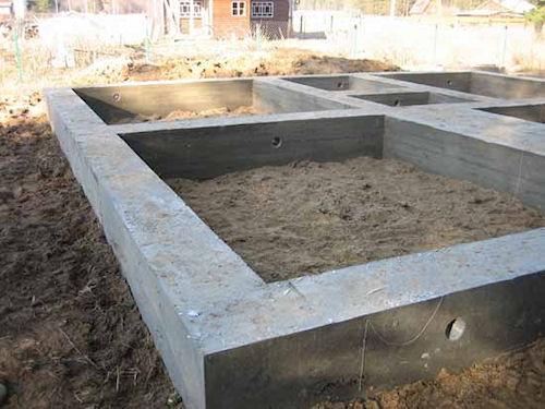 Фундамент в строительстве дома