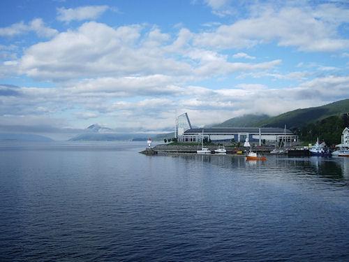 Маленький норвежский городок Молде
