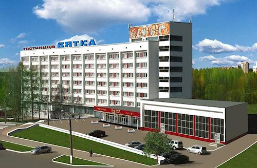 Гостиницы города Кирова