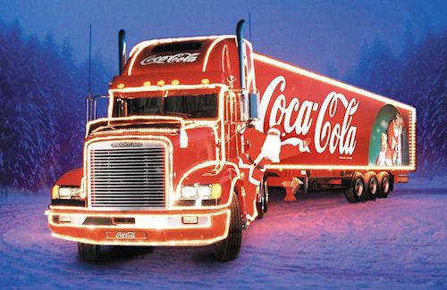 Кока-кола Новый год