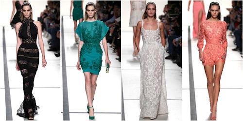 Модные вечерние платья лето 2017