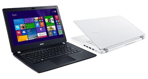 Новая серия лэптопов от Acer