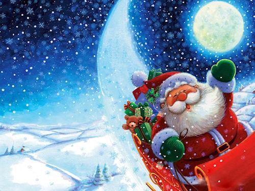 Новогодний главный гость - это Дедушка Мороз!
