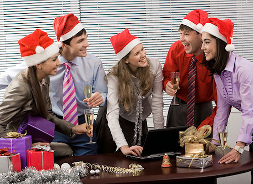 Встречаем Новый год с коллегами