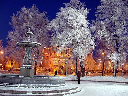 Новый год в Новгороде