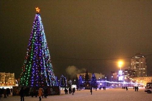 Новый год в Самаре