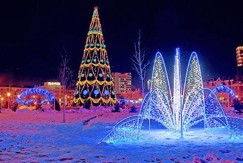 Новый год в Волгограде