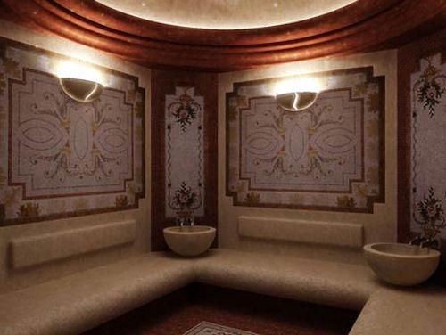 Образ современной бани