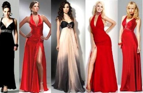 Подбираем платье к празднованию нового года