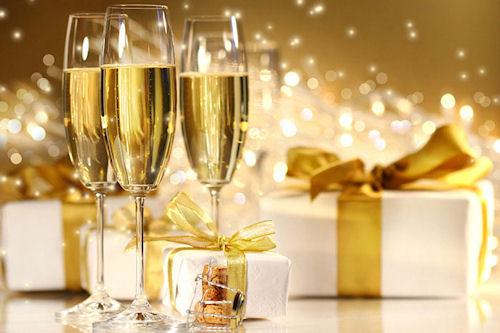 Пошлые поздравления с Новым годом