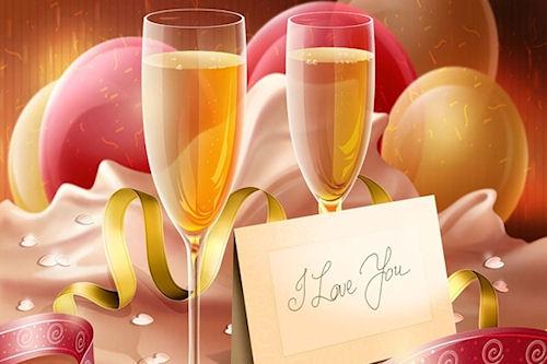 Поздравь любимую с Новым Годом