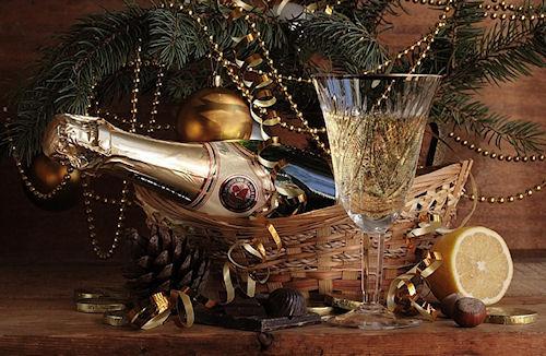 Поздравление клиентов с Новым годом