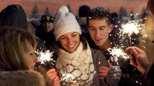 Поздравления брату с Новым годом