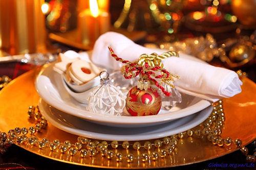 Праздничный стол на Новый год