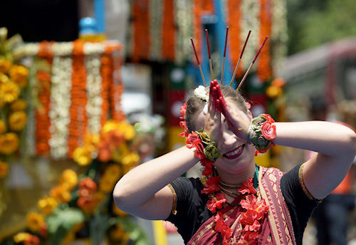 Праздник колесниц Ратха Ятра в Индии
