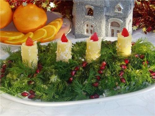 Простые салаты на Новый год