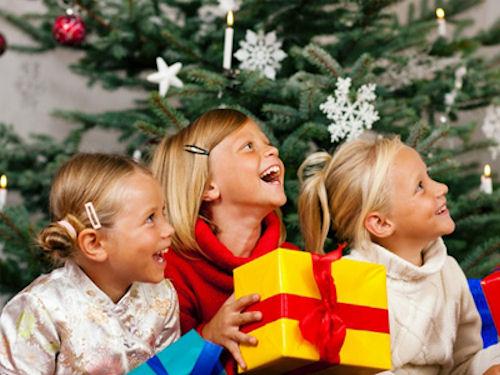 Сценарий детского Нового года