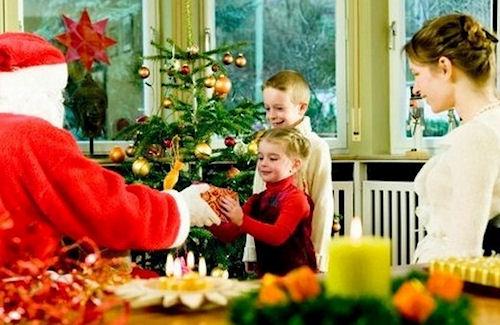 Сценарий Нового года дома