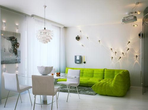 Секреты интерьера маленькой квартиры