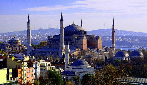 Софийский собор в Стамбуле - пересечение культур и миров