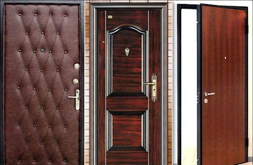 Способы отделки дверей