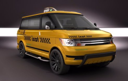Такси минивэн