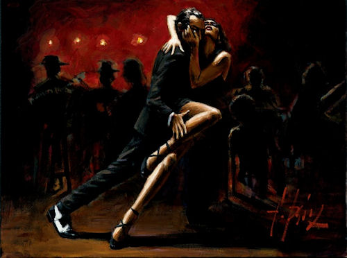 Танец страсти и печали