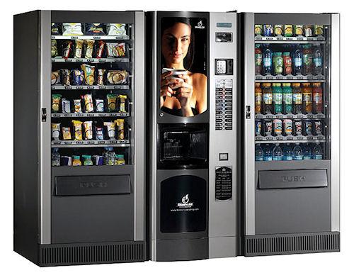 Торговые автоматы в прежние времена