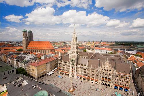 Особенности туризма в Мюнхене весной
