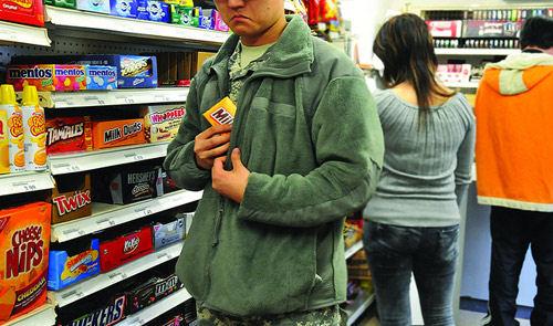Воровство в супермаркетах