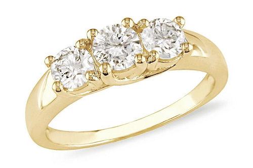 Женские кольца из золота