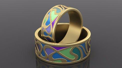 Оригинальные обручальные кольца в  Украине под заказ